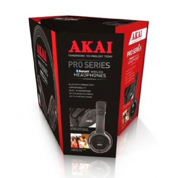 Akai Bluetooth Over Ear Headphones
